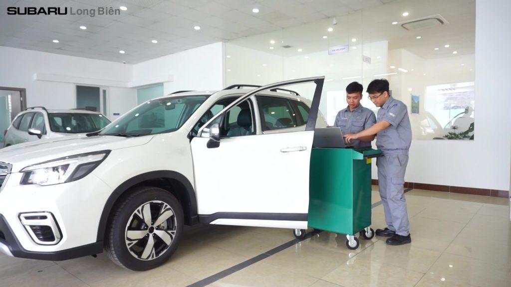 Xưởng dịch vụ Subaru Long Biên